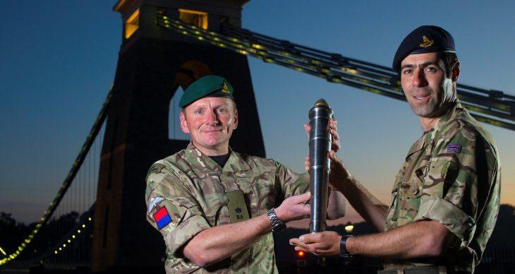 paulbox©  Images of The Captain General's Baton at the suspension bridge, Bristol  Please credit paulbox