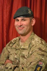 Corporal Dion Tantrum - member of 6 Rifles