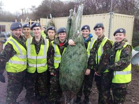 Bath Air Cadets at Frenchay Forestry