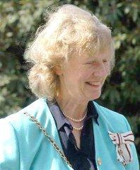 Lord-Lieutenant Lady Elizabeth Gass DCVO