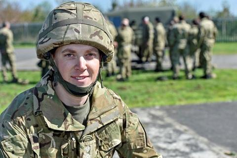 Captain Rory Riddell senior house officer at Torbay Hospital.