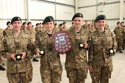 Dorset ACF First Aid Team